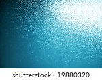 Blue Opaque Glass. Texture Or...