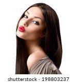 Beauty Fashion Girl Portrait....