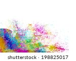 colorful abstract background...   Shutterstock . vector #198825017