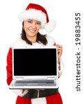 Christmas Girl Displaying A...
