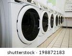 laundry machines | Shutterstock . vector #198872183