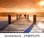Wooden Jetty  68  At A Little...