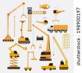 construction vector set. | Shutterstock .eps vector #198900197