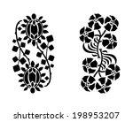 floral decoration elements....   Shutterstock .eps vector #198953207