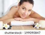 portrait of young female ready...   Shutterstock . vector #199090847