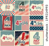 4th of July Set - Independence Day Design Collection