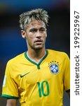 ������, ������: Neymar of Brazil during