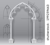 Vector Image Of The Gothic Arc...