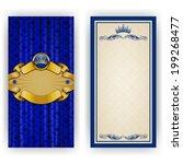 elegant template luxury... | Shutterstock . vector #199268477