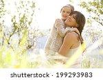 close up portrait of a joyful... | Shutterstock . vector #199293983