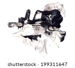 abstract watercolor and mixed... | Shutterstock . vector #199311647
