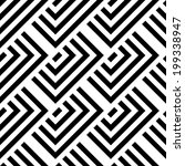 abstract stripped geometric... | Shutterstock .eps vector #199338947