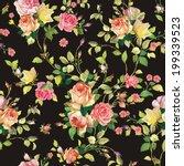 decorative seamless pattern... | Shutterstock .eps vector #199339523