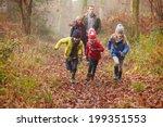 Family Walking Through Winter...