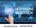 responsive webdesign concept...