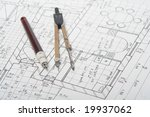 architecture plan | Shutterstock . vector #19937062