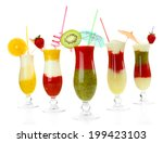 delicious fruit smoothie... | Shutterstock . vector #199423103