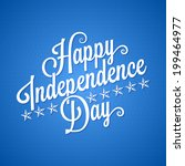 independence day vintage... | Shutterstock .eps vector #199464977