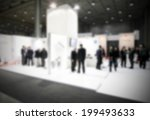 trade show with people ... | Shutterstock . vector #199493633
