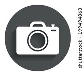 photo camera sign icon. digital ...