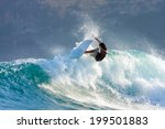 picture of the surfer in the... | Shutterstock . vector #199501883