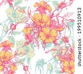 hand  drawn  elegance tender ... | Shutterstock .eps vector #199510913