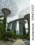 singapore   may 12  gardens by... | Shutterstock . vector #199671527