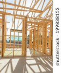 new residential construction... | Shutterstock . vector #199838153