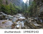 the mountain stream waterfall | Shutterstock . vector #199839143