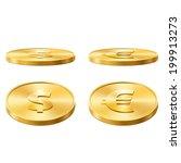 coins | Shutterstock . vector #199913273