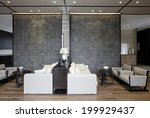 elegant business clubhouse... | Shutterstock . vector #199929437