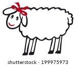 sheep | Shutterstock .eps vector #199975973