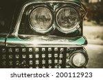 close up of retro car facia...   Shutterstock . vector #200112923