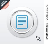 text file sign icon. file...