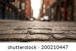 brick street   Shutterstock . vector #200210447
