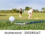 golf ball on the course | Shutterstock . vector #200280167