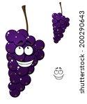 happy smiling bunch of cartoon... | Shutterstock .eps vector #200290643