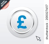 pound sign icon. gbp currency...