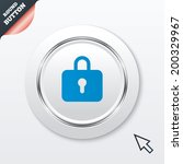 lock sign icon. locker symbol....