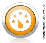 speedometers button | Shutterstock .eps vector #200495273