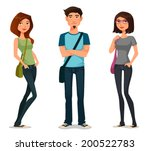 cartoon illustration of... | Shutterstock .eps vector #200522783
