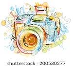 sketchy cam | Shutterstock .eps vector #200530277