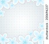 flower background | Shutterstock . vector #200696237