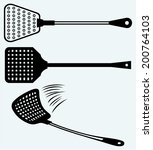 Fly Swatter. Image Isolated On...