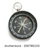 compass with clipping path | Shutterstock . vector #200780153