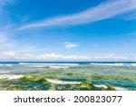 beautiful beach and tropical sea | Shutterstock . vector #200823077