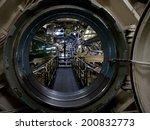 Submarine View Through Manhole...