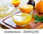 homemade orange with black...   Shutterstock . vector #200931293