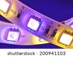 macro detail of a rgbw led... | Shutterstock . vector #200941103