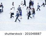 an image of commuting scene | Shutterstock . vector #201048887